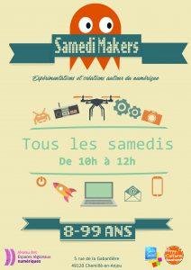 Samedi Makers @ Centre social du chemillois | Chemillé-Melay | Pays de la Loire | France